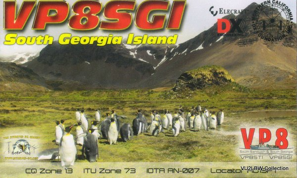 SOUTH GEORGIA ISLAND - VP8SGI