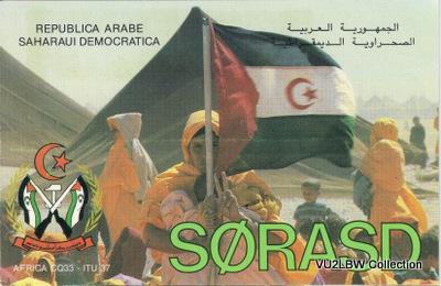 SAHARAN DEMOCRATIC REPUBLIC