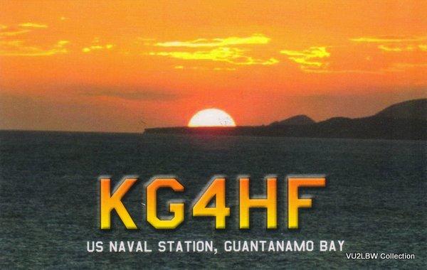 GUANTANAMO BAY - KG4HF